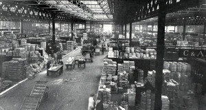 Spitalfields Market Floor