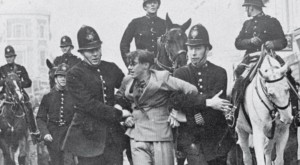 Police at The Battle of Cable Street