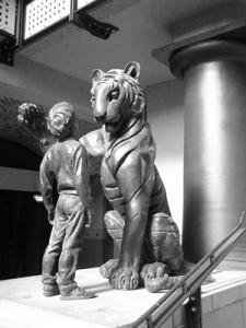 Jamrach-Statue
